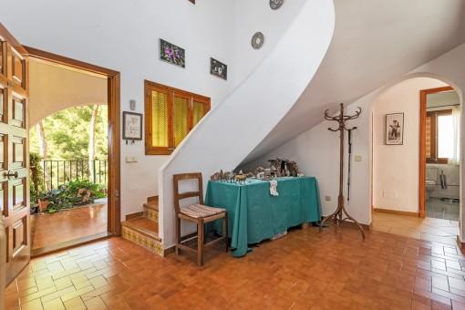 Eingangsbereich mit Treppe