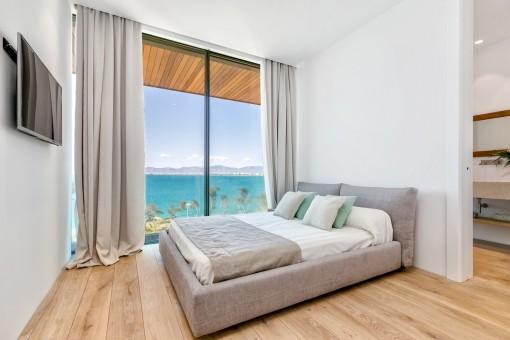 Traumhafter Blick über das Meer von allen Schlafzimmern