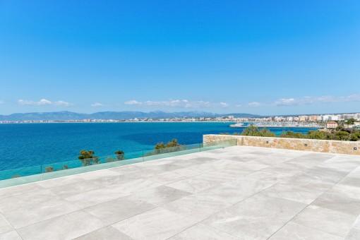Atemberaubender Blick über die Bucht von Palma