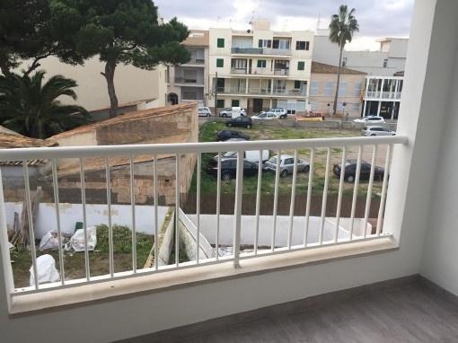 Unmöblierte Erstbezug-Wohnung mit Balkon in Colonia Sant Jordi Yachthafennähe