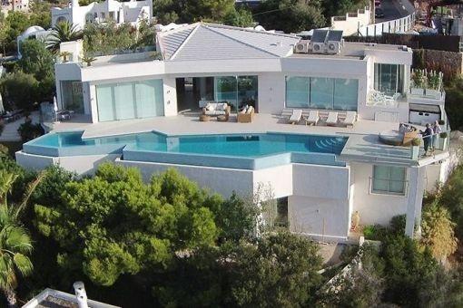 Einzigartige Luxusvilla mit dem besten Panoramablick von Port d' Andratx