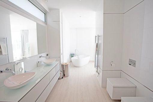 Nobles Badezimmer