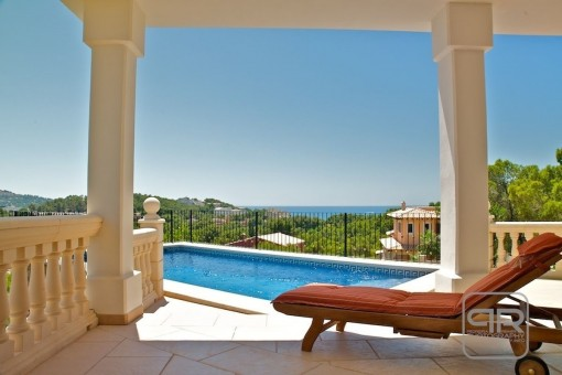 Modernes Haus in Costa de la Calma mit fantastischem Meerblick