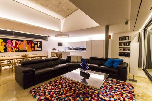 Alternative Ansicht vom Wohnbereich