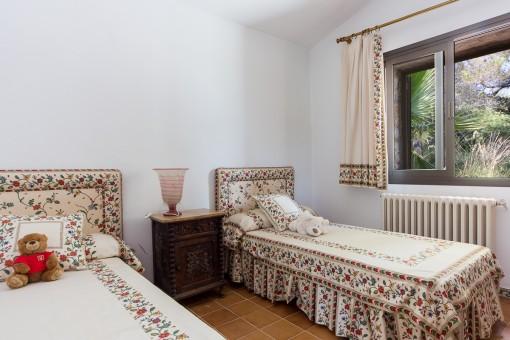 Doppelzimmer mit 2 getrennten Betten