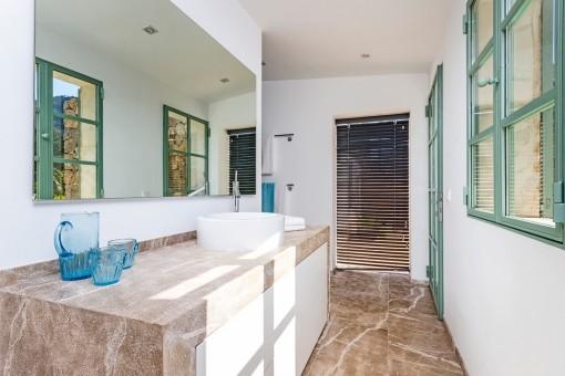 Badezimmer der Finca