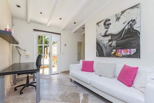 Gästeappartment mit Wohnbereich