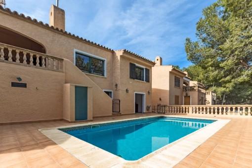 Doppelhaushälfte in ruhiger Umgebung in Costa de la Calma