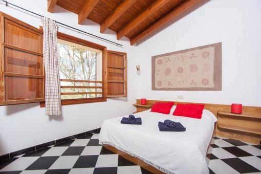 Eines von 3 Schlafzimmern im oberen Stockwerk
