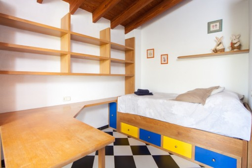 Schlafzimmer oder Büro