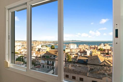 Fantastischer Blick auf die Bucht von Palma