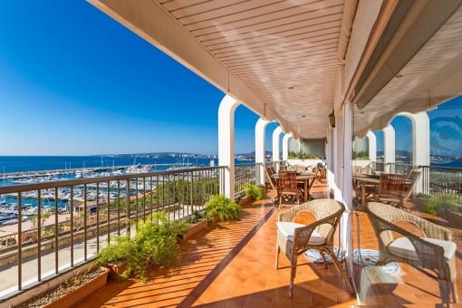 Ideale Wohnung für Yachtbesitzer
