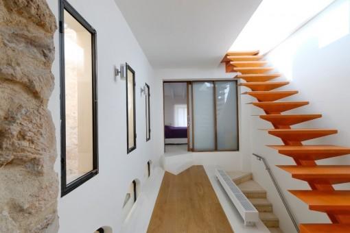 Exklusiver Treppenaufgang