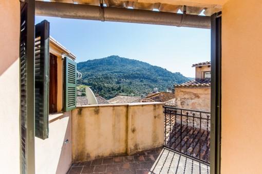 Fantastischer Blick auf die Berge und Valldemossa