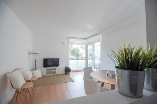 118 qm Wohnfläche mit 2 Balkonen