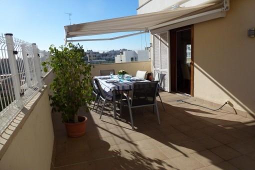 Atico-Duplex Wohnung in der Nähe der Carrer de Jesús in Palma
