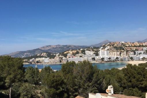 Atico mit spektakulärem Blick auf die Bucht von Santa Ponsa