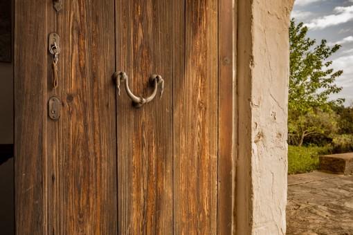 Haustür zur Finca