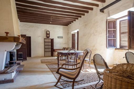 Traditioneller Wohnbereich