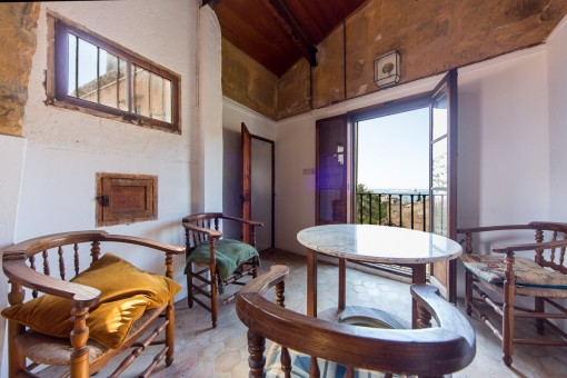Loungebereich des Hauses