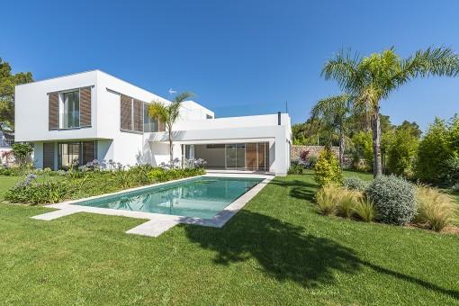 Moderne Luxusvilla in Sol de Mallorca