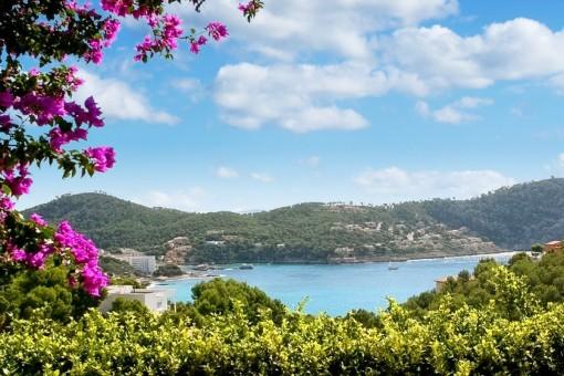 Einzigartiger Blick auf das Mittelmeer