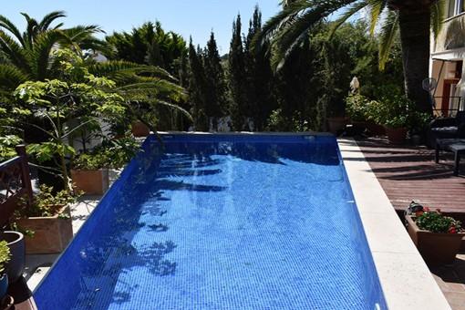 Schöne Villa mit Pool in Torrenova