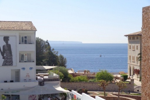 Meerblickvilla mit Gästeapartment zum Renovieren in Strandnähe, San Agustín