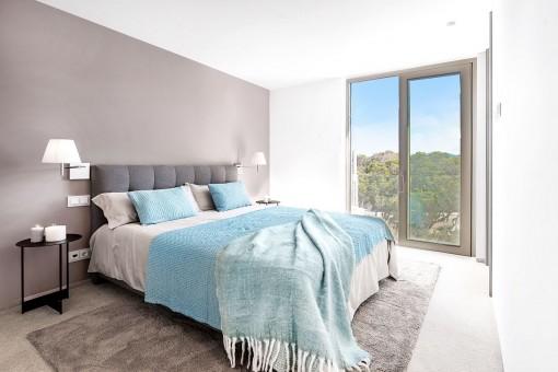 Weiteres Schlafzimmer der Villa