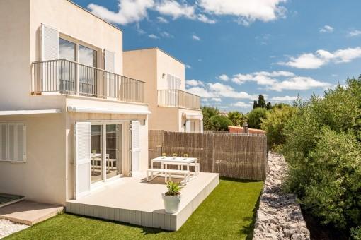 Moderne Villa in stilvoller Wohnanlage in Portocolom