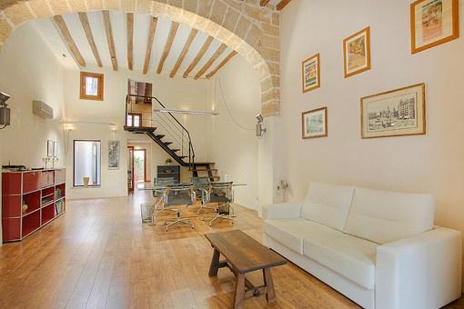 Tolle Kombination aus Büro und Wohnraum an einem ruhigen Platz in Palmas Altstadt