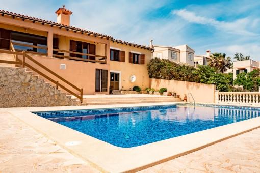 Familienfreundliche Villa mit Pool in Cala Murada