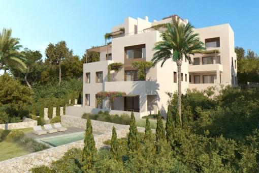 Fabelhaftes Penthouse mit Meerblick im begehrten Stadtteil La Bonanova