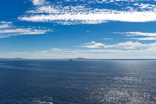 Blick über das Mittelmeer