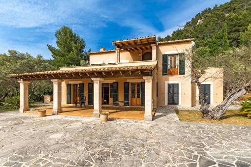 Großartige Villa mit tollem Blick auf Valldemossa
