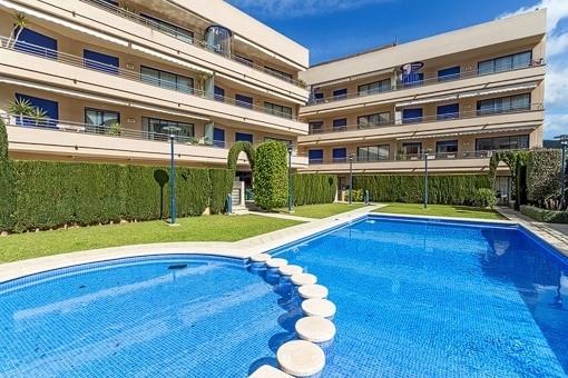 Schönes Apartment in gepflegter Gemeinschaftsanlage mit Pool