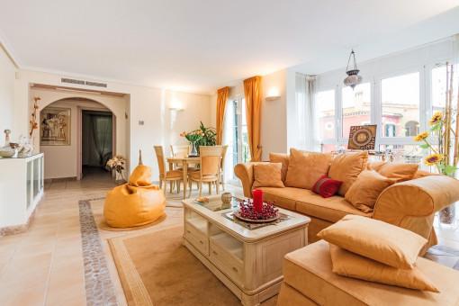 Schöne Wohnung in ruhiger Gegend von Santa Ponsa und in der Nähe des Strandes