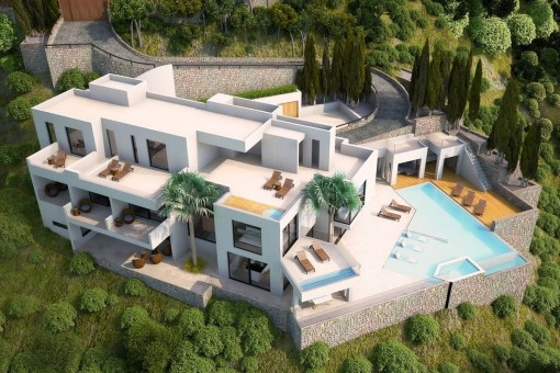 Phantastisches Baugrundstück mit Projekt in Costa de Canyamel