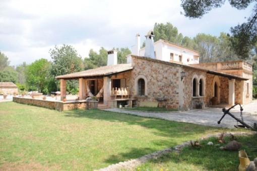Charmantes mallorquinisches Haus mit großem Grundstück