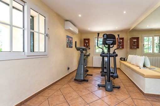 Privates Fitnessstudio