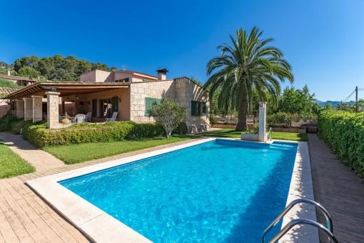 Idyllische Finca mit schönem Pool und Garten unweit vom Hafen von Andratx