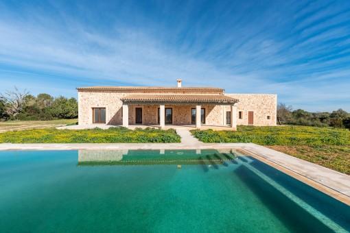 Neubau-Landhaus in Top Bauqualität bei Campos
