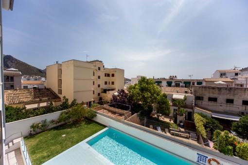 Moderne Wohnen im Puerto von Pollença nur 100 m von der Promenade entfernt