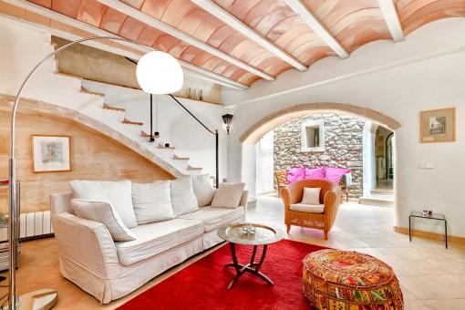 Liebevoll renoviertes Stadthaus in Arta