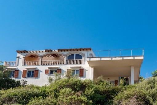 Bezaubernde Villa in erster Meereslinie an der Cala Murada