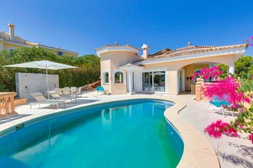 Renovierte Villa mit freiem Ausblick in ruhiger Lage in Costa de la Calma