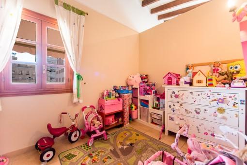Kinderspielecke im Wohnbereich