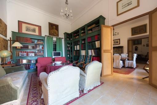 Einladende Bibliothek
