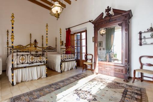 Hoheitliches Schlafzimmer
