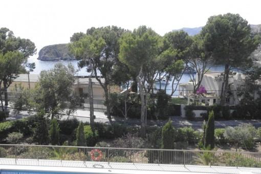 Reihenhaus in erster Meereslinie in begehrter Wohngegend in Santa Ponsa